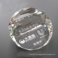 Clear Bulk Business Kristallkartenhalter