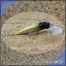 MNL042 10 cm / 10g de plástico duro Robot Fish Minnow Lure