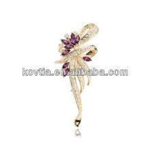 Trendy charm wedding brooch wholesale bulk brooch