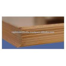 Anel de liga de cobre de tungstênio / folha / folha / tira