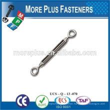 Made in Taiwan High quality Turnbuckles EYE EYE rigging screw galvanize