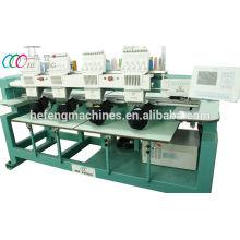 4 Köpfe 9 Nadeln Tubular Embroidery Machine Für Cap / Shirt