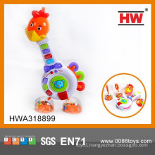 Plastic Musical Instrument Cartoon Giraffe Funny Baby Musical Toys
