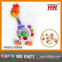 Пластиковые музыкальные инструменты Мультфильм Жираф Смешные Детские музыкальные игрушки