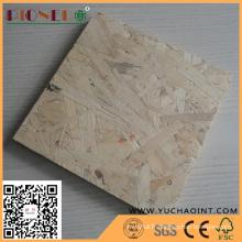 Linyi 18mm OSB Panel avec prix compétitif pour les meubles
