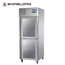 FRCF-3-3 FURNOTEL Refrigerador industrial Refrigerador de porta de vidro usado Garantia de qualidade
