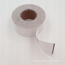 Rolo de etiquetas em jacto de tinta fosco revestido em branco para impressora de etiquetas