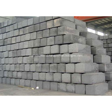 Low Electrical Resistance Prebaked Carbon Anodes