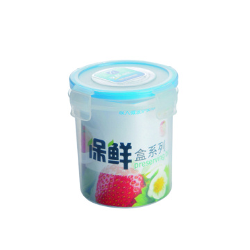 500 ml Plastic Food Container Round Shape Tall