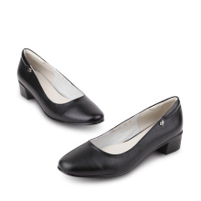 oxford thick sole genuine leather office women dress custom made shoes