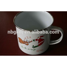 450 ML Wedding Rings enamel cup/mug