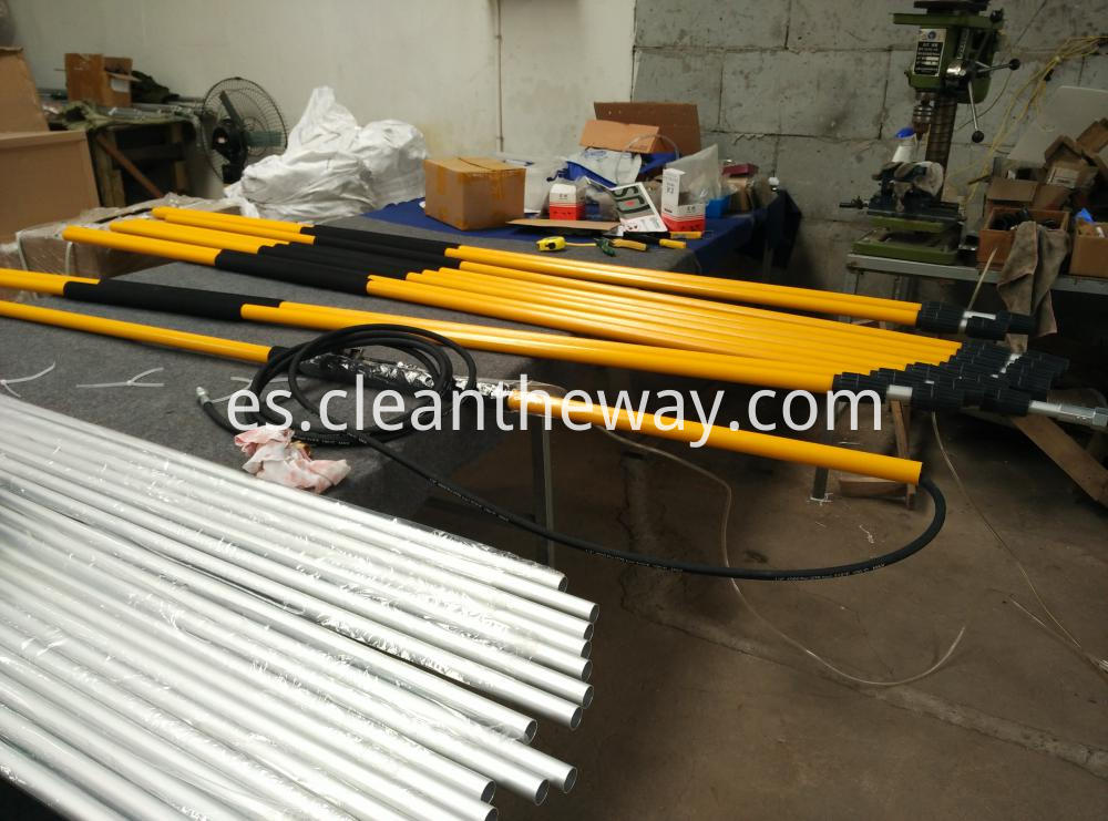 Telescoping Wand Assembling