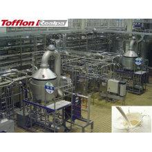 Conjunto completo de planta de producción de leche
