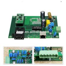 OEM / ODM HRui optische 100M industrielle 2 port poe schalter platine / prototyp PCBA 48 v für ip-kamera