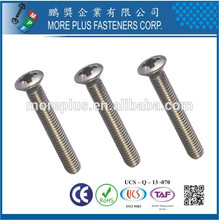 Made in Taiwan M5 DIN966 Phillips Raised Senkkopfschraube Phillips Schraube