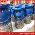 Cast Iron Ductile Iron Flanged Foot Valve Bottom Valve