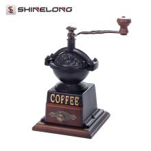 Produtos de qualidade superior Moinho de café antigo da mão do vintage