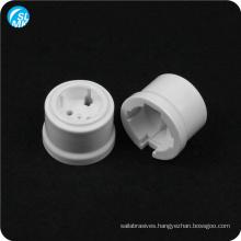 white glazed 95 alumina ceramic lamp base holder wall socket