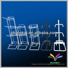 Hochwertige 3 Krawatten 5 Gallone robuste Metall Gallone Flasche Display