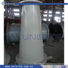 Толстая стальная износостойкая труба для земснаряда (USC-7-007)