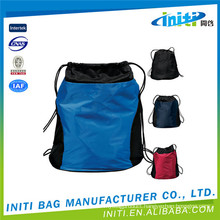 Hot product new design denim drawstring bag