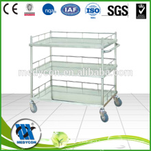 Three Shelves stainless steel infusion bottles trolleys