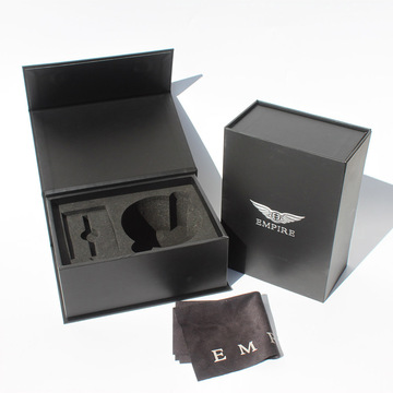 Luxury Magnetic Flap box Elektronik Carboard package Matte
