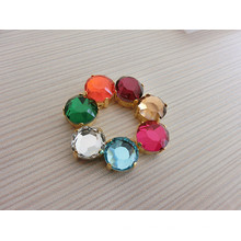 Colorful Flat Back Stones Beads Strass with Claw Settings