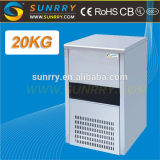 Ice Cube Maker 20 KG Daily Commercial Ice Maker Machine R134a Ice Maker For CE (SY-IM20 SUNRRY)