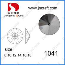 China Wholesale Fashion Flat Back Decorative Glass Stone for Jewelry Making