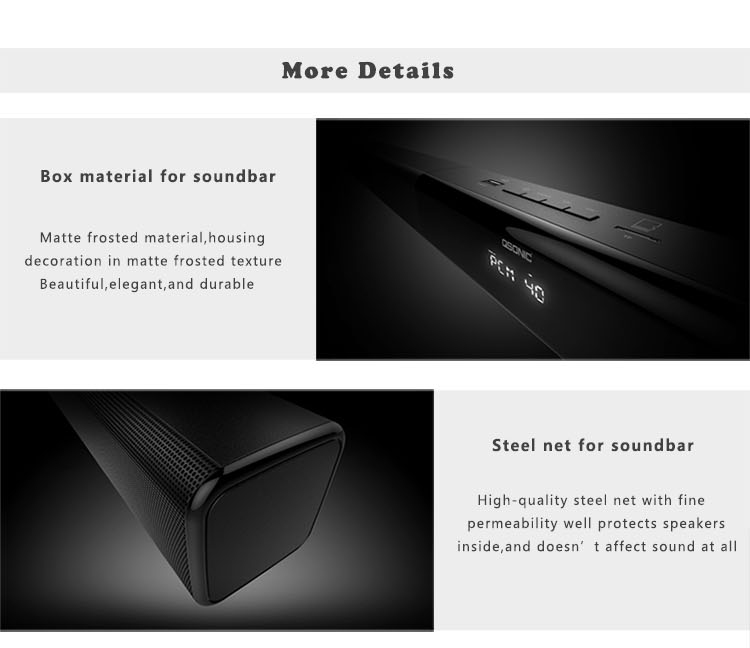 Subwoofer Soundbar Function