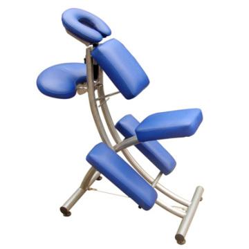 Nouveau fauteuil de tatouage bleu