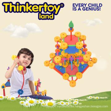Juguetes de cerebro intelectual y educativo de plástico para niños