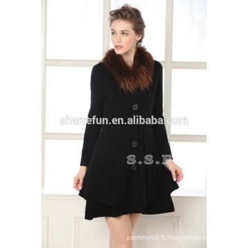 2014 femmes formelle manteaux d'hiver