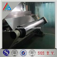 aluminum metalized polypropylene bopp film with heat seal