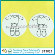 herstellung papier aufkleber baby tuch aufkleber label