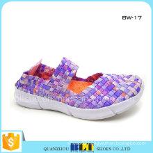 Fashion Woven Flats Shoes