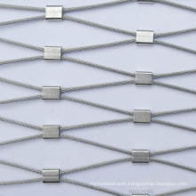 7 x 7 Flexiable Stainless Steel Ferrule Rope Mesh with High Strength