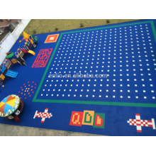 Kindergarten floor tile children playground floor tiles