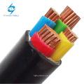 Cable de alimentación de PVC CU XLPE de bajo voltaje 4x120mm2