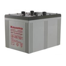 2000H Bateria de gel 2V para sistema de energia solar e eólica / Estradas de ferro
