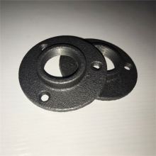 "3/4"" black iron floor flange for Furniture purpose"