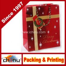 Bolsa de papel y caja de regalo