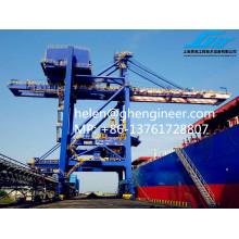 Desembarque de Navio de Garra 800T / H para Carvão