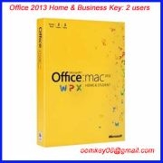 Office 2013 Home & Business Key 2 users office key