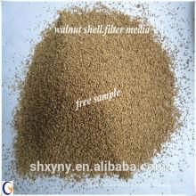 Noix de prix concurrentiel en coquille / poudre de coquille de noix pour la séparation d'eau-huile.