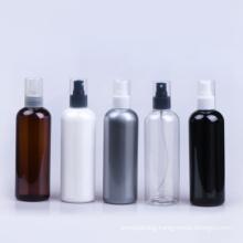 In Stock Black White Clear Aluminium 300ml Empty Mist Sprayer Large Plastic Spray Bottles Bulk