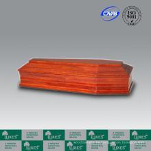 Estilo alemán popular barato madera fúnebre ataúd Casket_China ataúd fabrica
