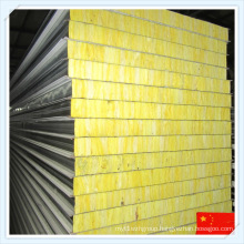 Sound-Insulated Fireproof Glass Wool Sandwich Panel for Wall