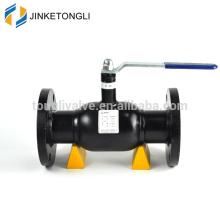 400 WOG handwheel lever fully welded flanged ball valve